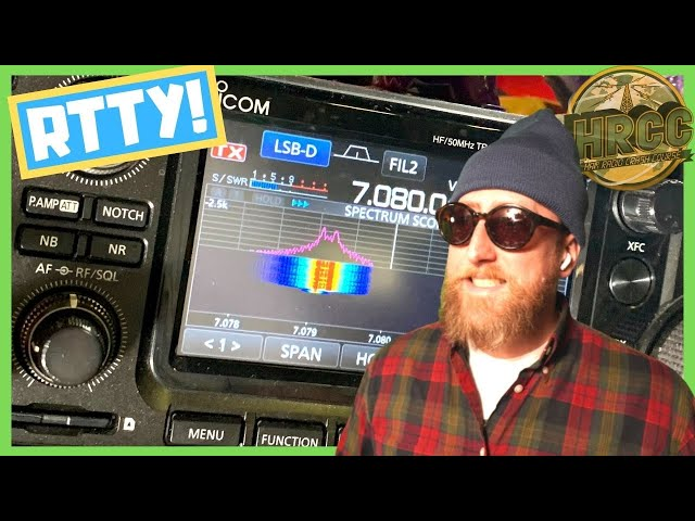 Why You Should Try Radioteletype RTTY, The Most Hipster Of Ham Radio Digital Modes – Livestream
