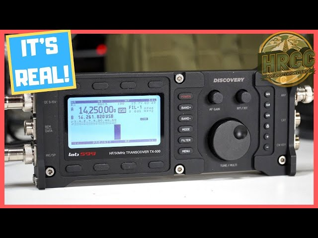 Lab599 Discovery TX-500 QRP Ham Radio Preview