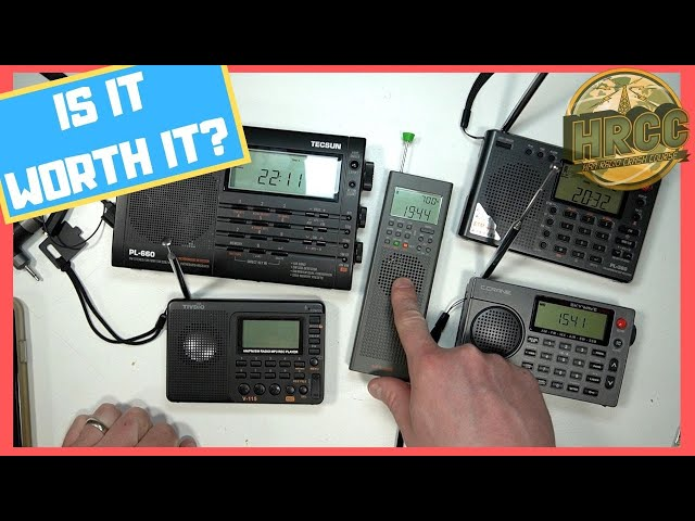 CountyComm GP-5 General Coverage Radio Review