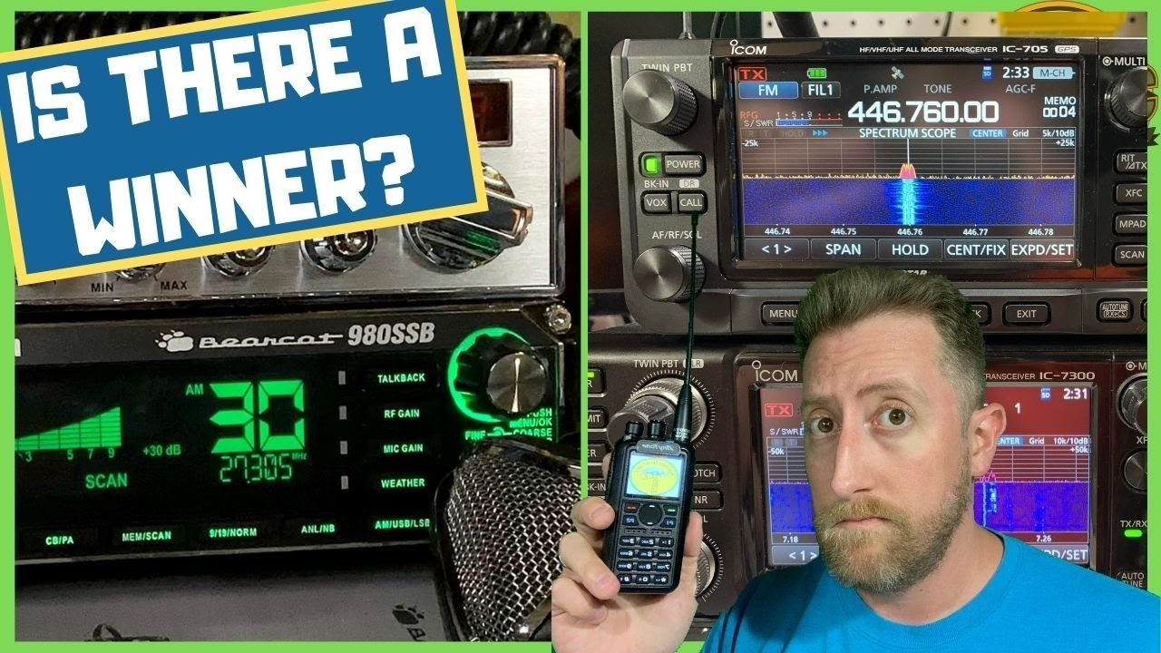 The Right Radios For What You're Doing. Ham, GMRS, FRS, CB?
