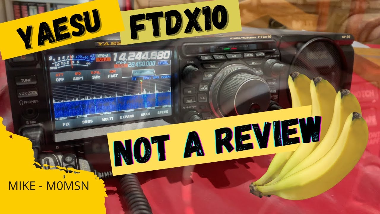 HAM RADIO: Yaesu FTDX10 –  Not a review – or is it?