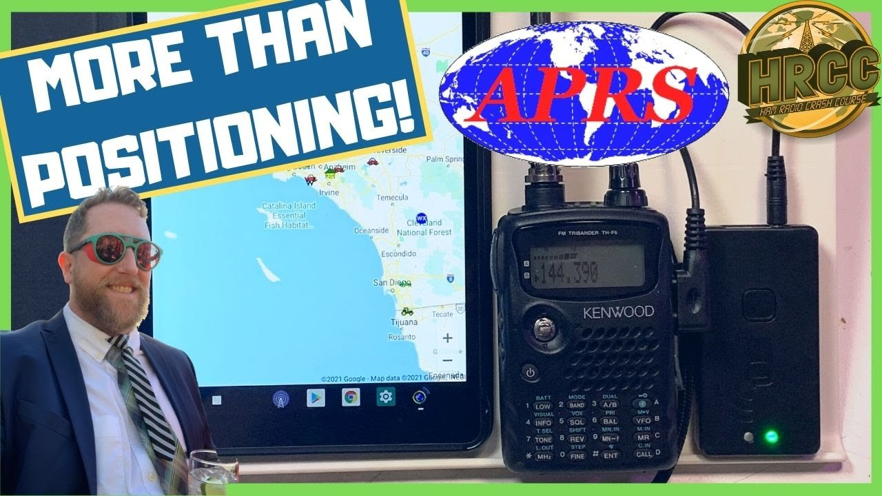 What is Automatic Packet Reporting System APRS and how to use it on your ham radio